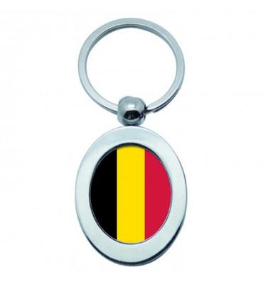 Porte-clés Ovale Métal...