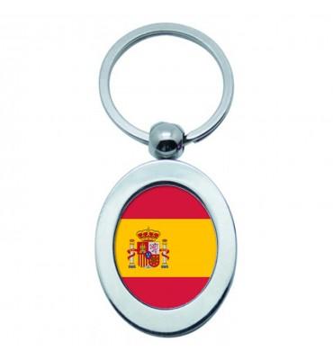 Porte-clés Ovale Métal Espagne