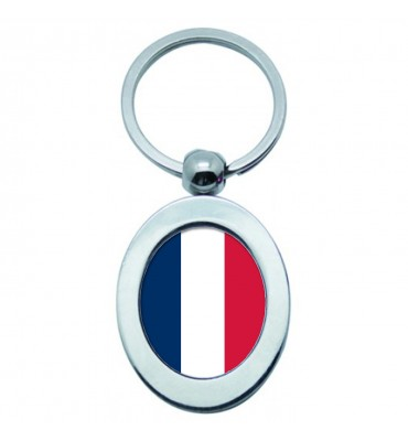 Porte-clés Ovale Métal France