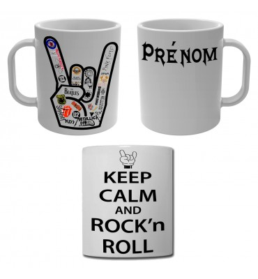 Mug Keep Calm and Rock'n...