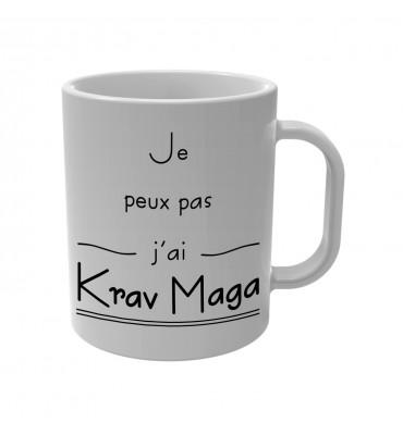 Mug Je peux pas j'ai Krav Maga
