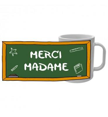 Mug Tableau d'école - Merci...