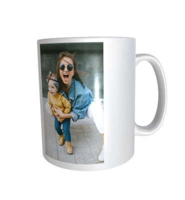 Mug Blanc avec Photos et...
