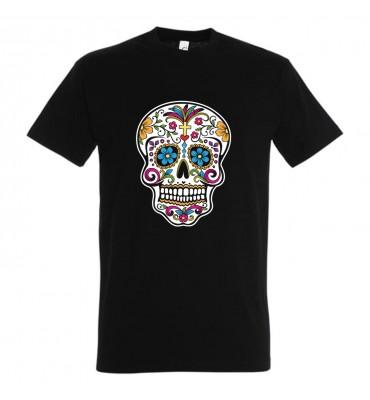 T-shirt noir Enfant Tête de...