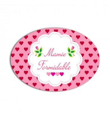 Magnet Ovale Mamie Formidable