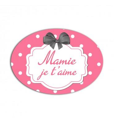 Magnet Ovale Mamie Je...