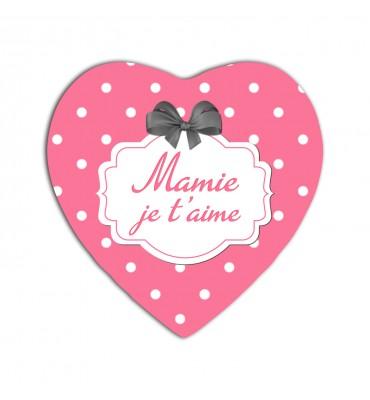 Magnet Coeur Mamie Je...