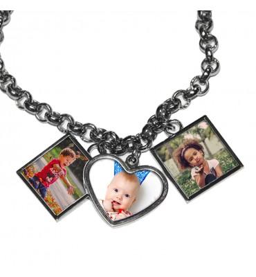 Bracelet 3 charms