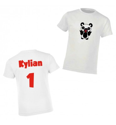 T-shirt Enfant Blanc...