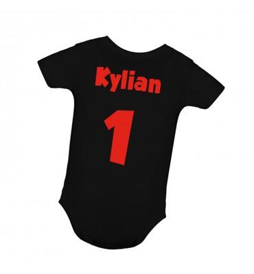 Body bébé Noir Personnalisé...