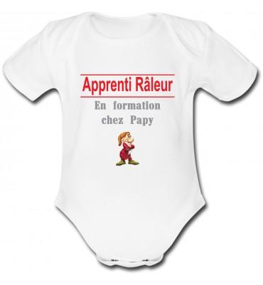 Body bébé Apprenti Râleur