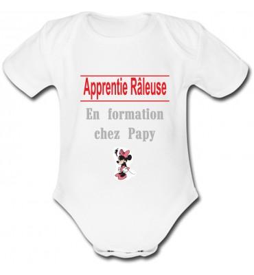 Body bébé Apprentie Râleuse
